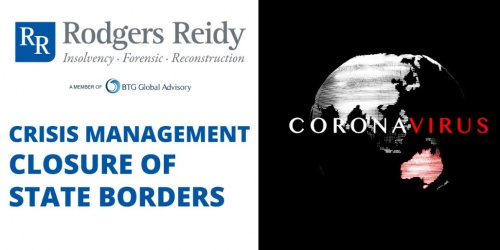 COVID19 - Crisis Management Closure of State Borders